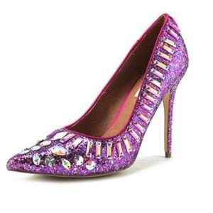 Steve Madden Galaxxie Pointed Toe Pump Heel $135